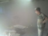 2014 09 foto 5 - stanza piano terra dx taglio muro per scarico - Paolo